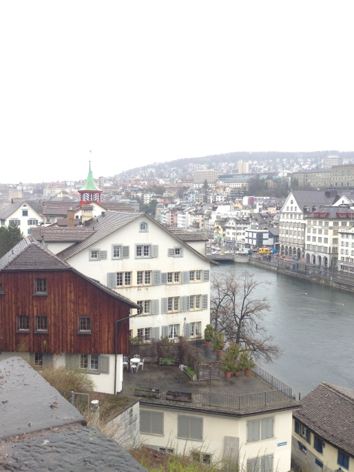 Zurich is pretty, even in the rain!